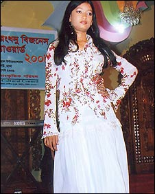Pinky, a victim of Eve teasing in Bangladesh