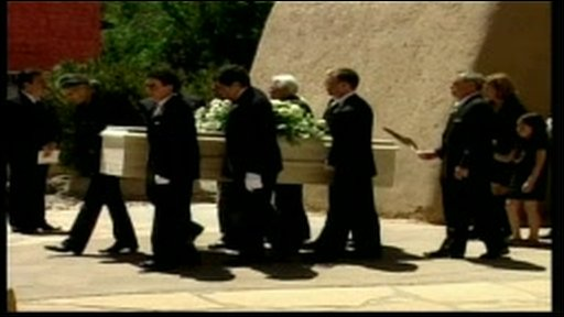 Dennis Hopper's funeral