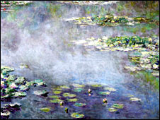 Monet's Nympheas, 1906