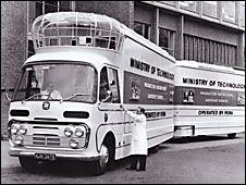 Archive photo of the Movie Bus