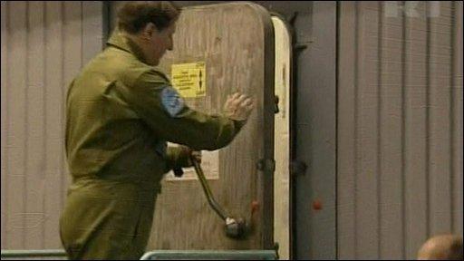 The door shuts for 18 months