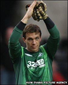 Dorus de Vries has spent the last three years at Swansea City