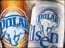Polar beer (screen grab from company website)