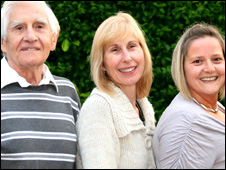 Members of the Clark's Pie management - Dennis Dutch, Beverley Pemberton, Ceri Dutch-John
