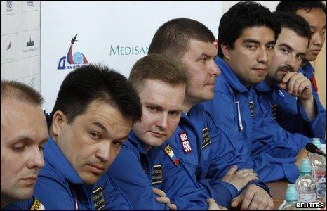 Mars500 crew