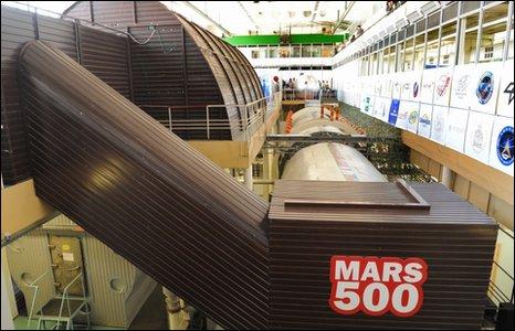 Mars 500 facility