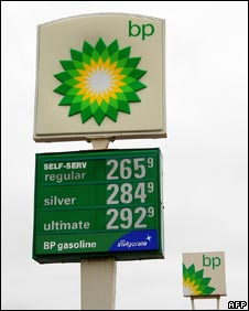 BP filling station