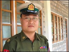 Burmese army major Sai Thein Win says Burma is working towards a nuclear bomb