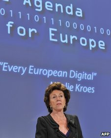 Dr Neelie Kroes, AFP/Getty