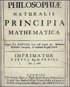 Title page of Newton's Principia Mathematica