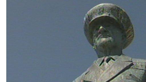 Statue of Betram Ramsay