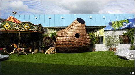 Big Brother house garden