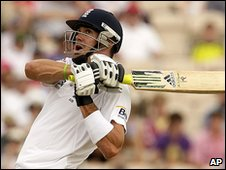 Pietersen was in aggressive mode before his dismissal