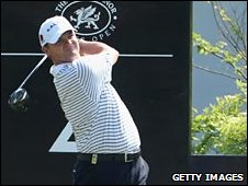 Paul Lawrie's second round was destroyed by a disastrous 11 at the second