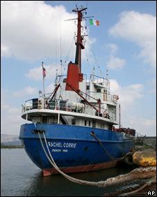 MV Rachel Corrie (file photo)