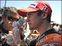 Repsol Honda rider Dani Pedrosa