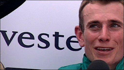 Derby winning jockey Ryan Moore