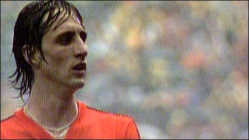Dutch powerhouse Johann Cruyff