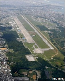 Futenma military base, Okinawa