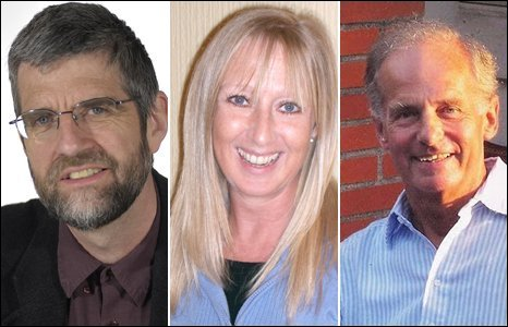 Authors Philip Gross, Terri Wiltshire and Nikolai Tolstoy will battle it out