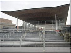 Welsh assembly, Cardiff Bay