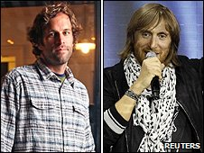 Jack Johnson and David Guetta