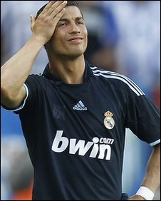 Portugal and Real Madrid forward Cristiano Ronaldo