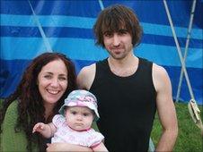 Dominique, Stewart & Mya Woolley