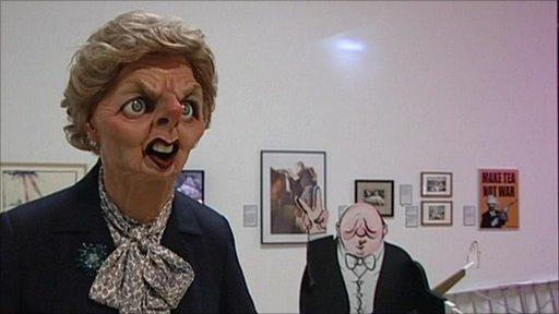Art on show at Rude Britannia