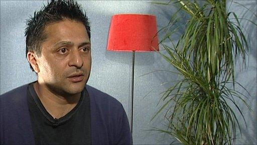Former prisoner Danny Afzal