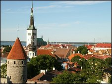 Tallinn, capital of Estonia