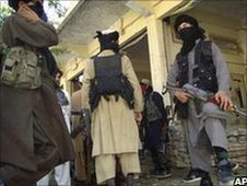Taliban militants in Pakistan
