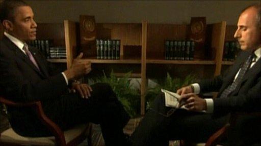 Barack Obama in NBC interview