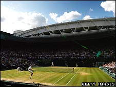 Men's 2009 final on Centre Court at Wimbledon