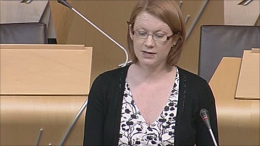 Shirley-Anne Somerville leads the debate