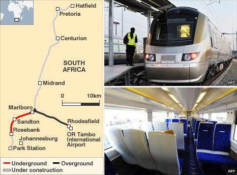 Gautrain graphic