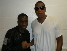 Tinchy Stryder and Jay-Z
