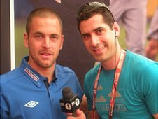 Joe Cole and David Garrido