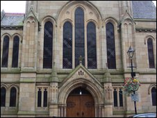 Hexham's Trinity Methodist Church in Northumberland