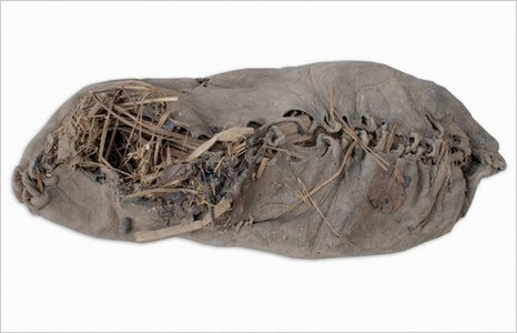 Oldest shoe (Reuters)