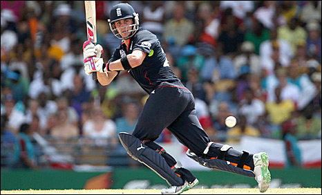 Craig Kieswetter in action in the Caribbean
