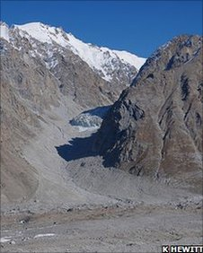 Himalayan glacier