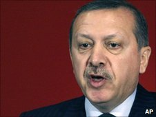 Turkish Prime Minister Recep Tayyip