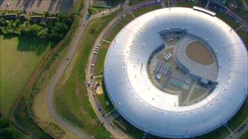 The synchrotron in the Oxfordshire countryside