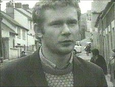 Martin McGuinness in 1972