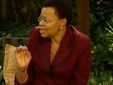 International campaigner Graca Machel