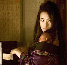 Gong Li in Memoirs Of A Geisha