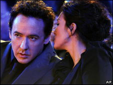 John Cusack and Gong Li