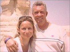 Paula Poolton with husband Richard