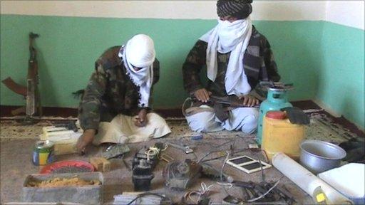 Taliban bomb factory
